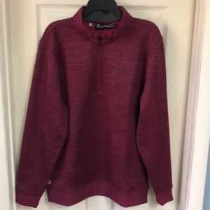 "NWT - Under Armour Mens 1/4 Zip Pullover W/""Storm"""